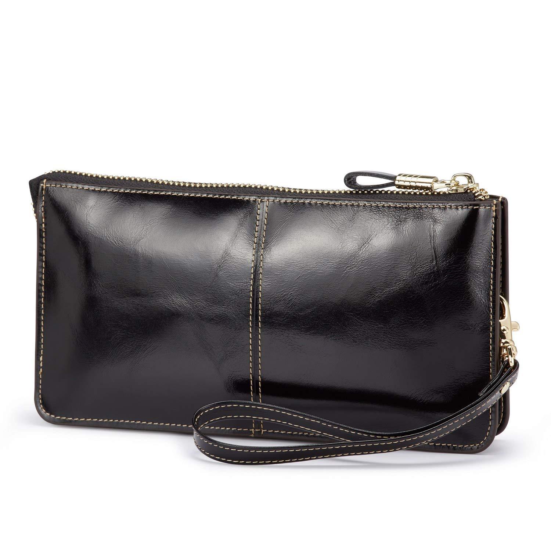 Lecxci Genuine Leather...