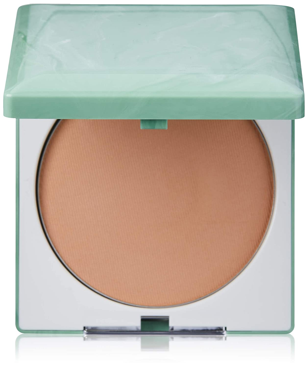 Clinique Stay Matte Sheer Pressed Powder Compact .27 oz, Stay Brandy 11