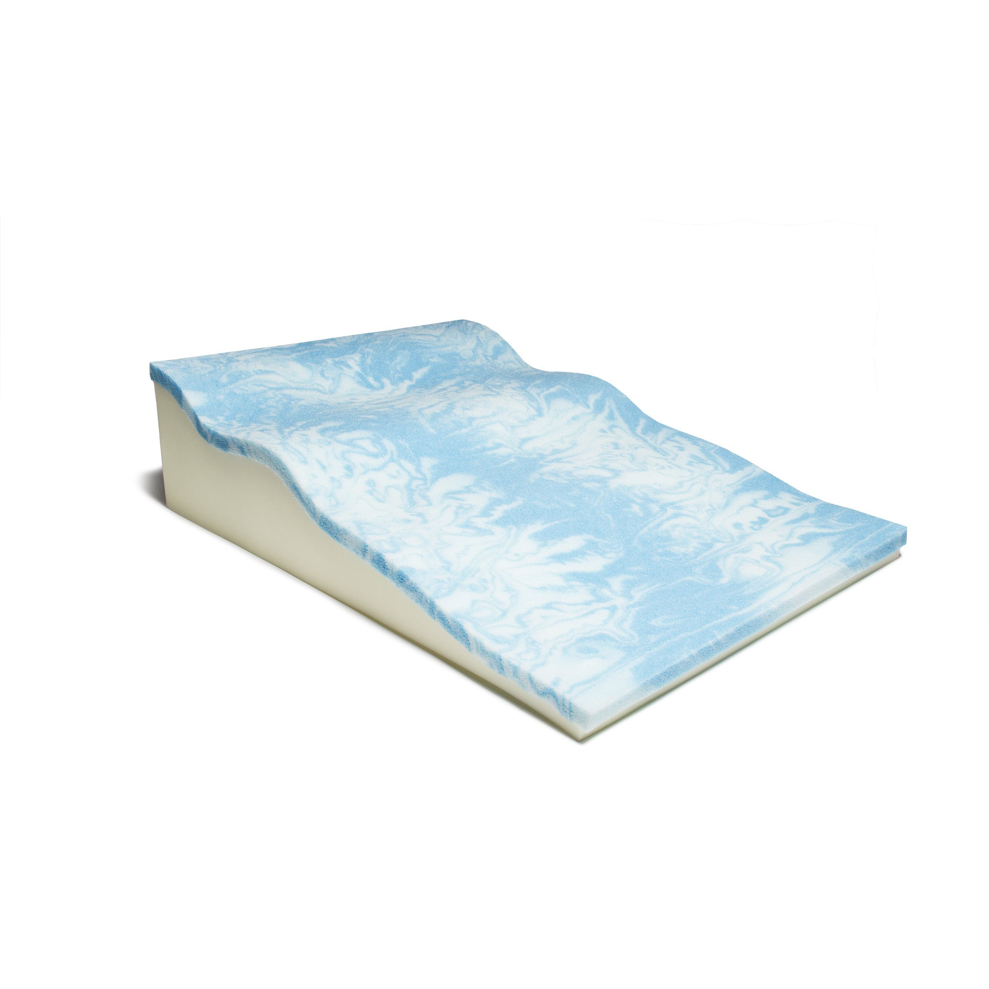Avana Contoured Bed Wedge Support Pillow for Side Sleepers with Cool Gel Memory Foam by Avana (Image #4)