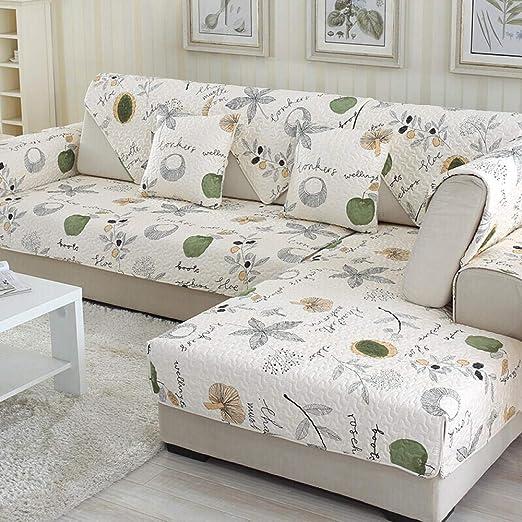 DJHYT Fundas para Sofa,Cojín de sofá de Moda de Tela de ...