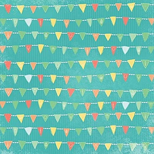 Amazon Com Karen Foster Scrapbooking Paper 25 Sheets 12 X 12 Inches A Banner Year Arts Crafts Sewing