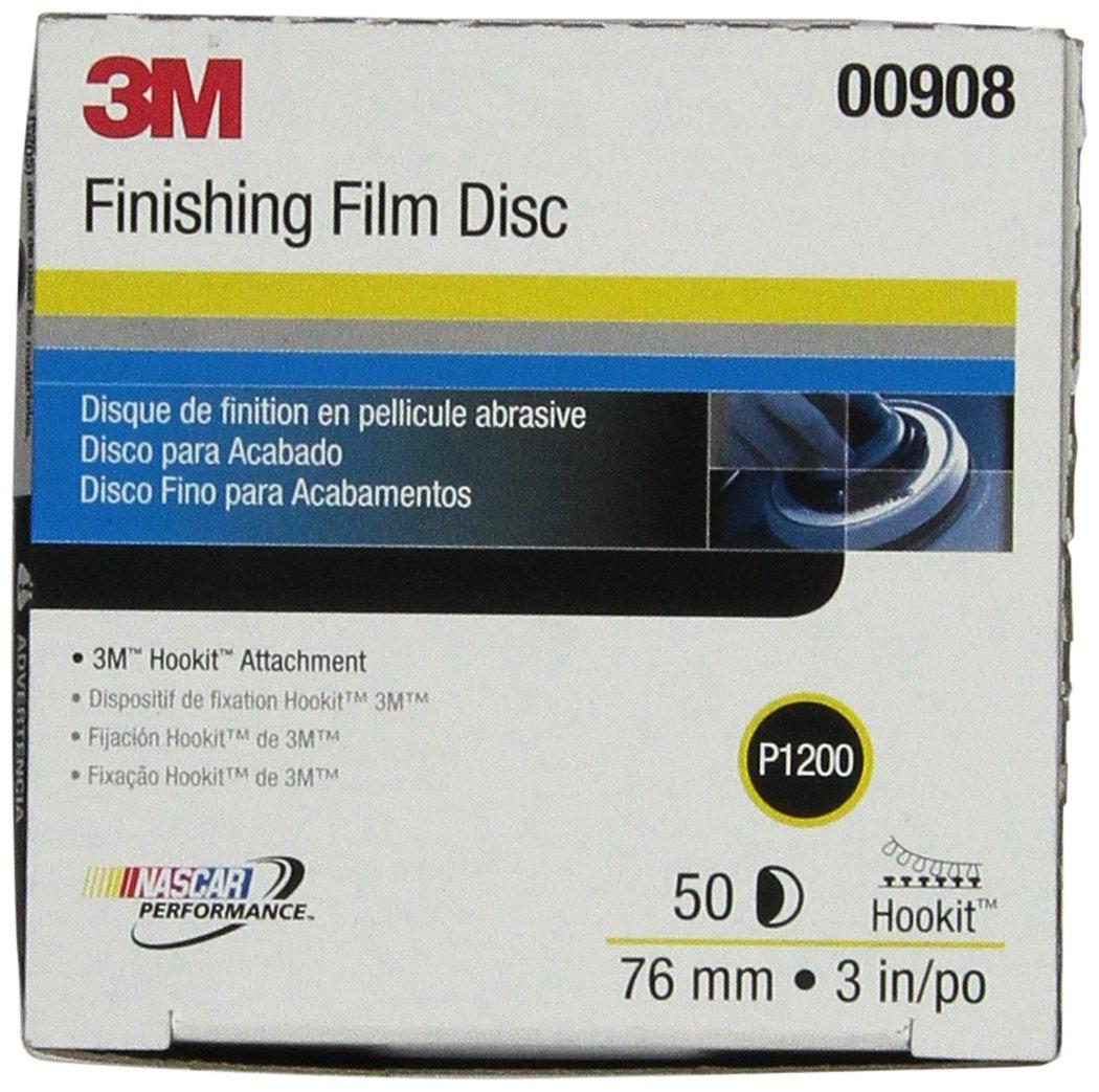 3M 00970 Hookit 6' P800 Grit Finishing Film Disc MMM 0970