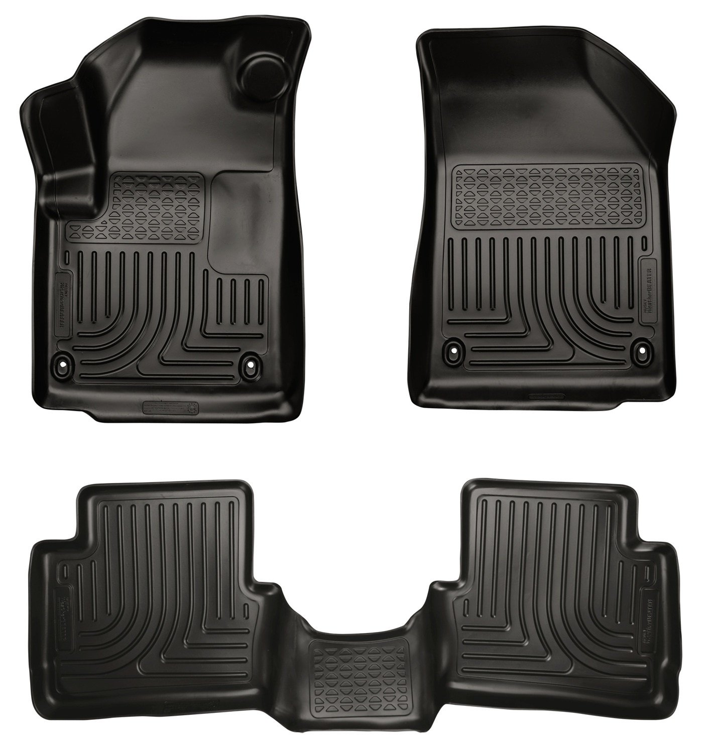 Amazon.com: Husky Liners Front U0026 2nd Seat Floor Liners (Footwell Coverage)  Fits 13 16 Dart: Automotive
