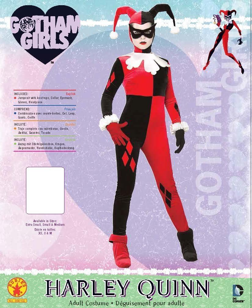 Mono Oficial de la Super Villana Harley Quinn, de RubieS; Disfraz ...