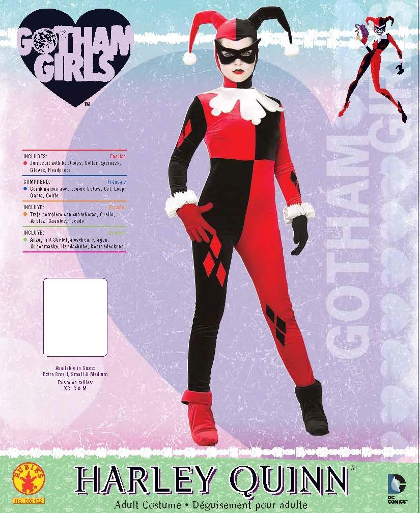 Rubies Harley Quinn costume for women (disfraz)