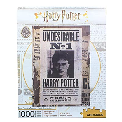 Harry Potter Undesireable 1000 Pc Puzzle: Toys & Games