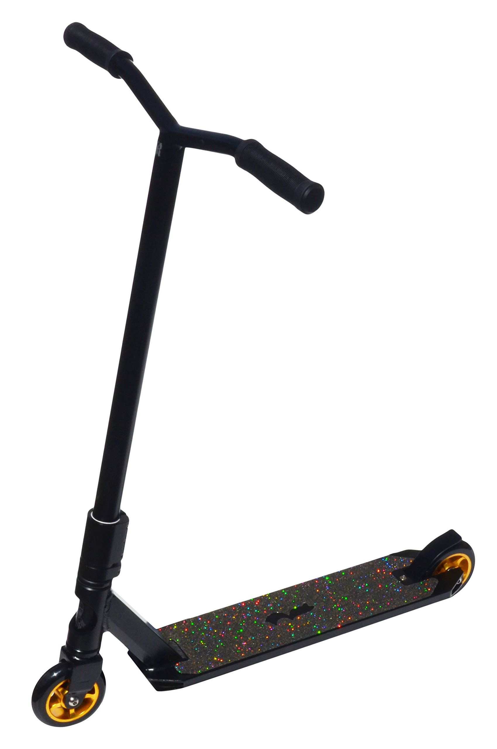Royal Scooters 71110 Knight Freestyle Stunt Scooter, Black/Gold by Royal Scooters