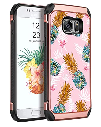 Amazon.com: Yinlai - Carcasa para Samsung Galaxy S7, 3 en 1 ...