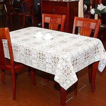 Mahlzeit Wasserdicht Tischdecke/Gartentisch Aus Kunststoff Tuch/PVC  Tischdecke/gegen Öl Warm Reinigen