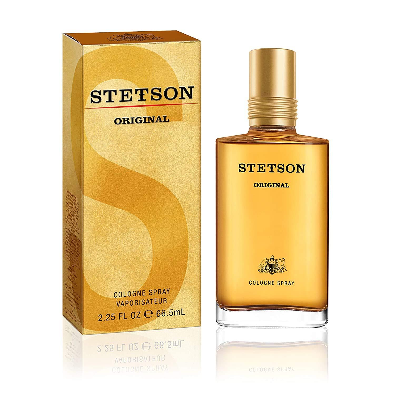 Stetson Original Cologne Spray for Men, 2.25 Fl Oz