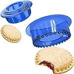 YUMKT Sandwich Cutter Uncrustable Sealer Cookie Bread Pancake Maker PCJ Mold