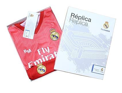 64351fce6 Kit Infantil Real Madrid Réplica Oficial Licenciado de la Tercera Equipación  Temporada 2018-19 Sin
