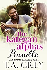 The Kategan Alphas Bundle (The complete series: Books 1-6): Mating Cycle, Dark Awakening, Wicked Surrender, Eternal Temptation, Dark Seduction, Tempting Whispers Kindle Edition