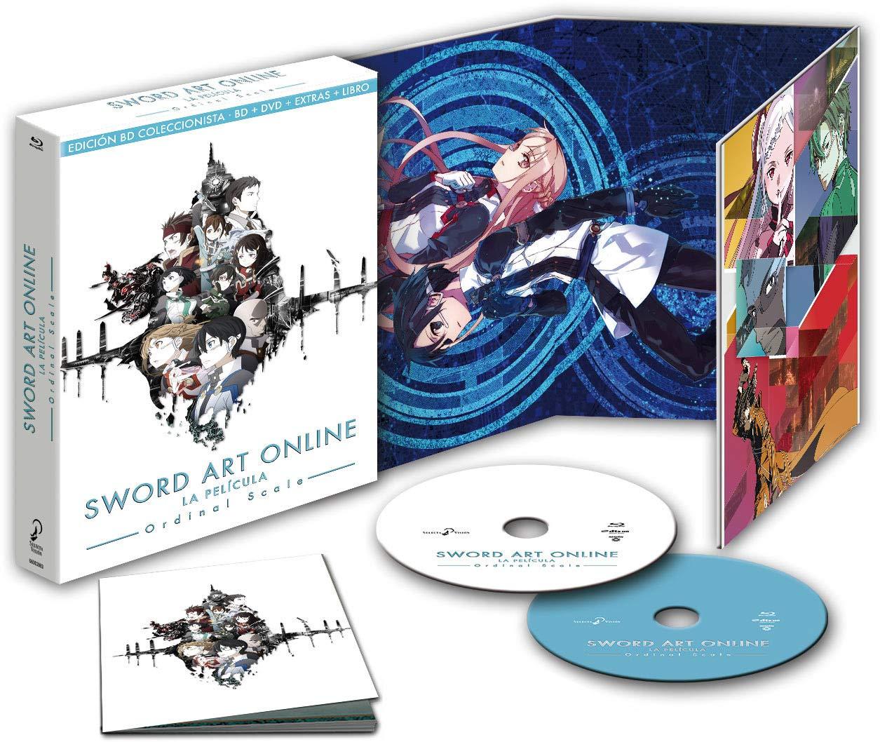 Sword Art Online Ordinal Scale Blu-Ray Edición Coleccionistas [Blu-ray]