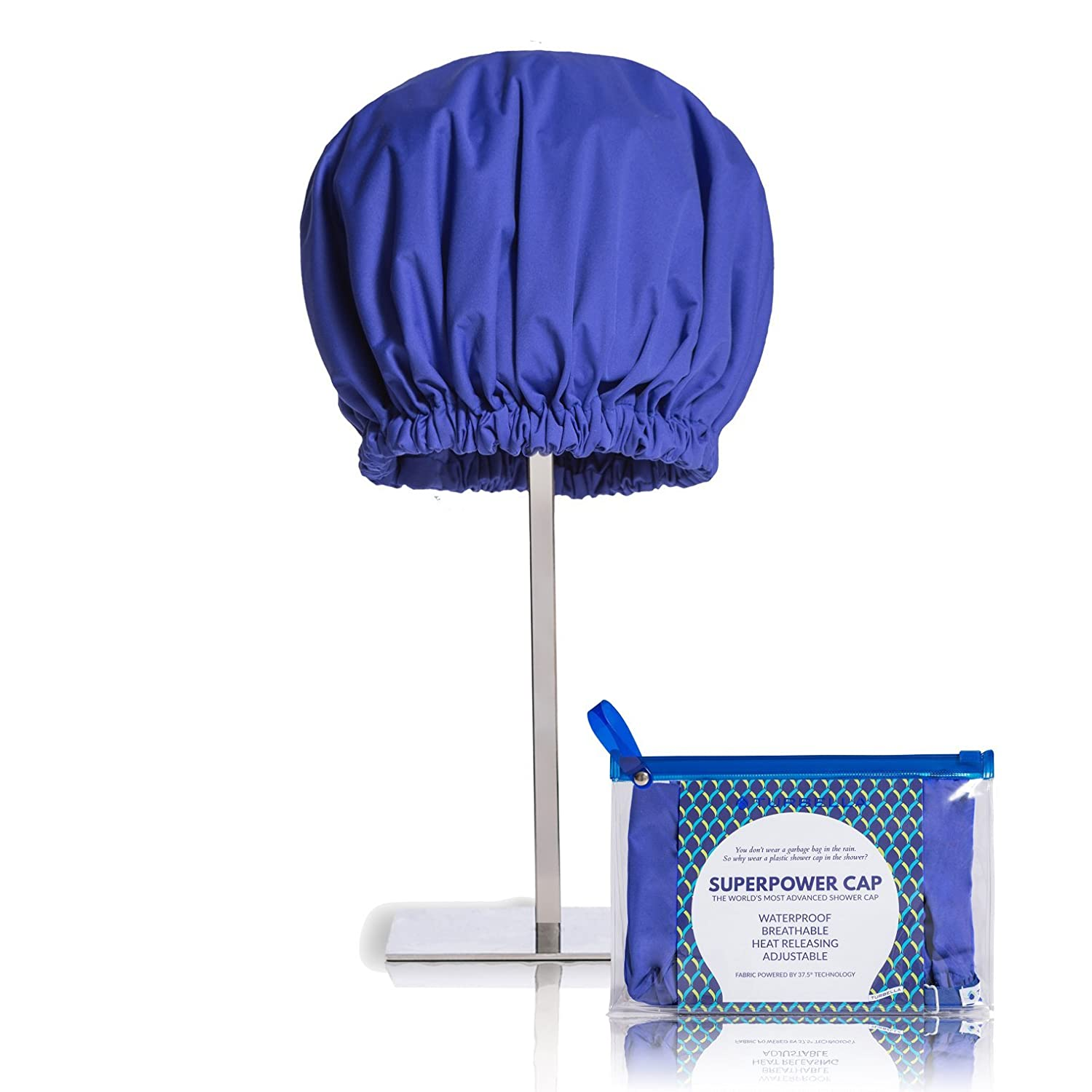 Amazon.com : SUPERPOWER CAP The Only Shower Cap That Removes ...