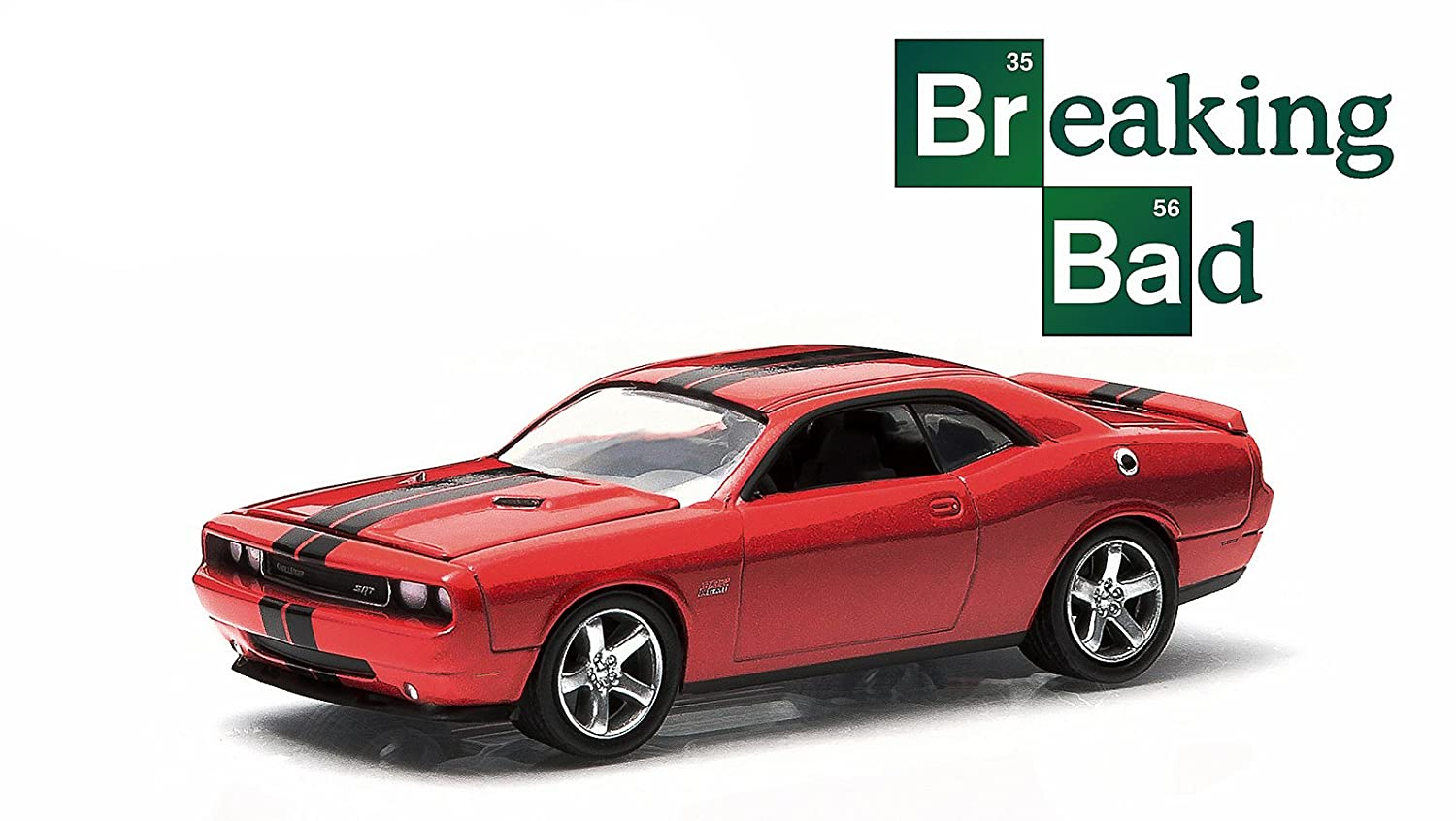 Amazon com new 1 64 hollywood series 9 red breaking bad 2012 dodge challenger srt8 diecast model car by greenlight toys games