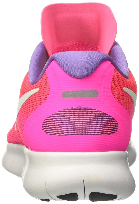 NIKE Women's Free RN 2017 Running Shoe B01K0NR298 8 B(M) US|Racer Pink/Off White