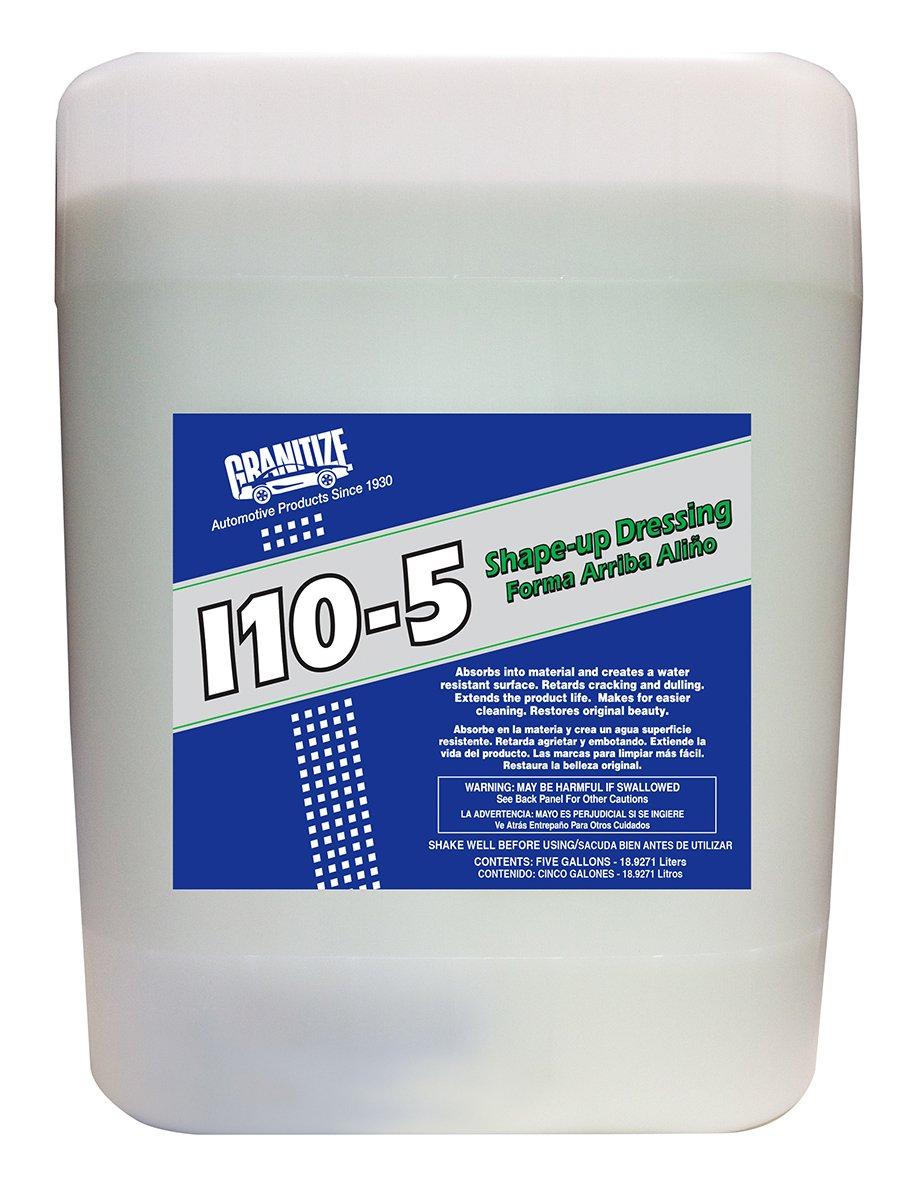 Granitize I-10 Auto Shape Up Rubber-Plastic-Vinyl Dressing - 5 Gallon