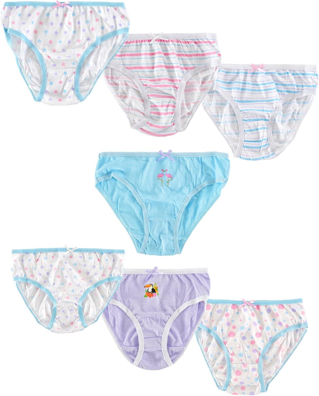 Lora Dora Kids Cotton Briefs Pack of 7