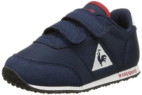 Le COQ SportifRacerone Inf - Zapatillas de Deporte Bebé-Niños, Azul (Bleu (Dress Blue)), 22: Amazon.es: Zapatos y complementos