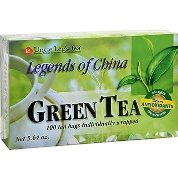Amazon com: Uncle Lee's Legends of China Green Tea - 100 Tea