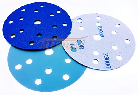 150mm Sanding Discs 10x 240 320 400 600 800 GRIT Hook and Loop 15 Hole ALLDREW //// 6 Sandpaper 50pcs Mixed for Random Orbital and DA Sanders
