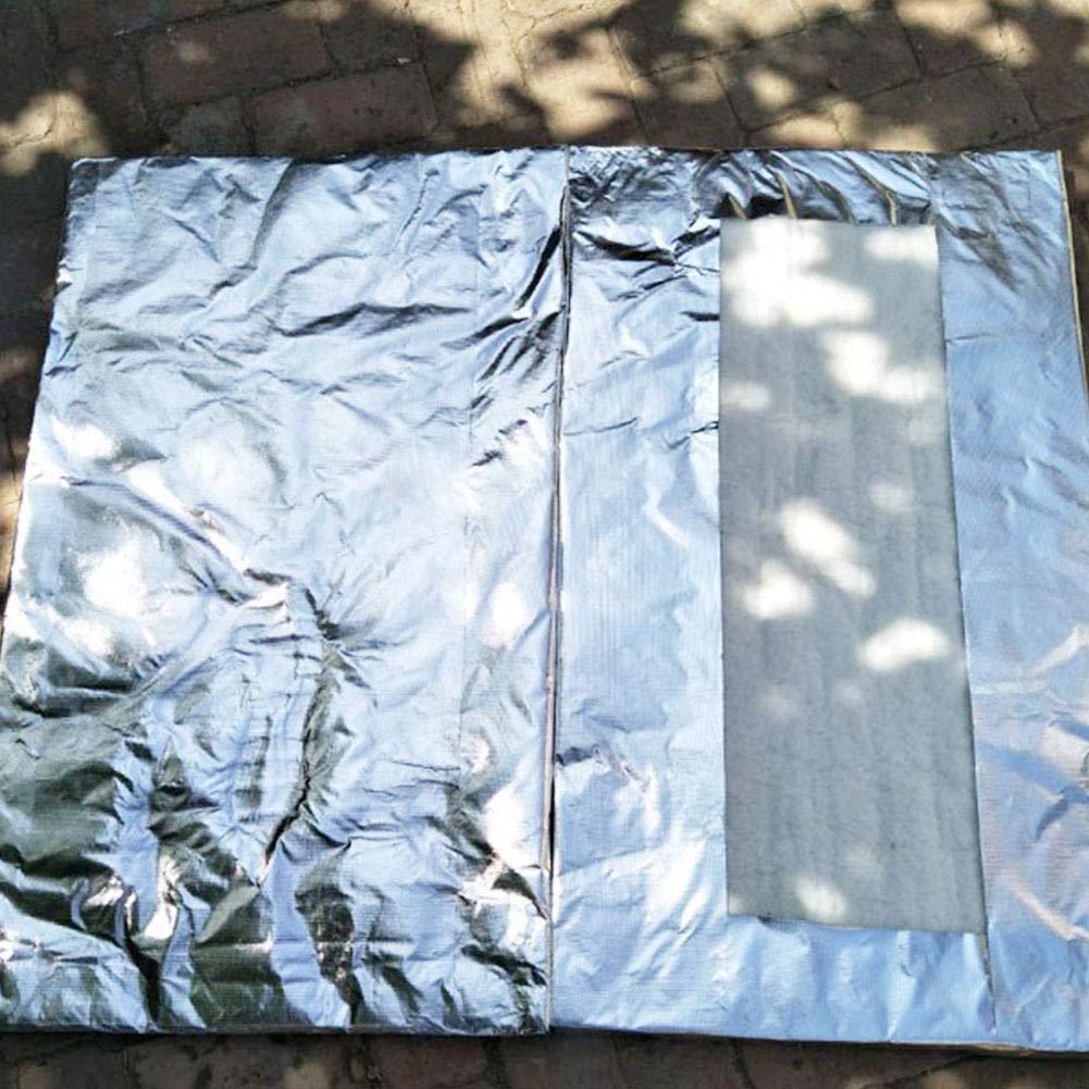 Motto.h Isolierdecke aus Keramikfaser Aluminium mit Silikatnadelabdeckung feuerfeste Baumwollisolierung 10mm
