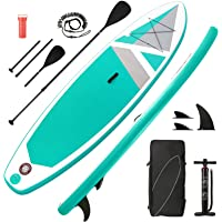 【Limited Time Promotion】 Stand Up Paddle Board Inflatable SUP Paddle Board with 10'30''6'' Premium Paddle Board & Bi…