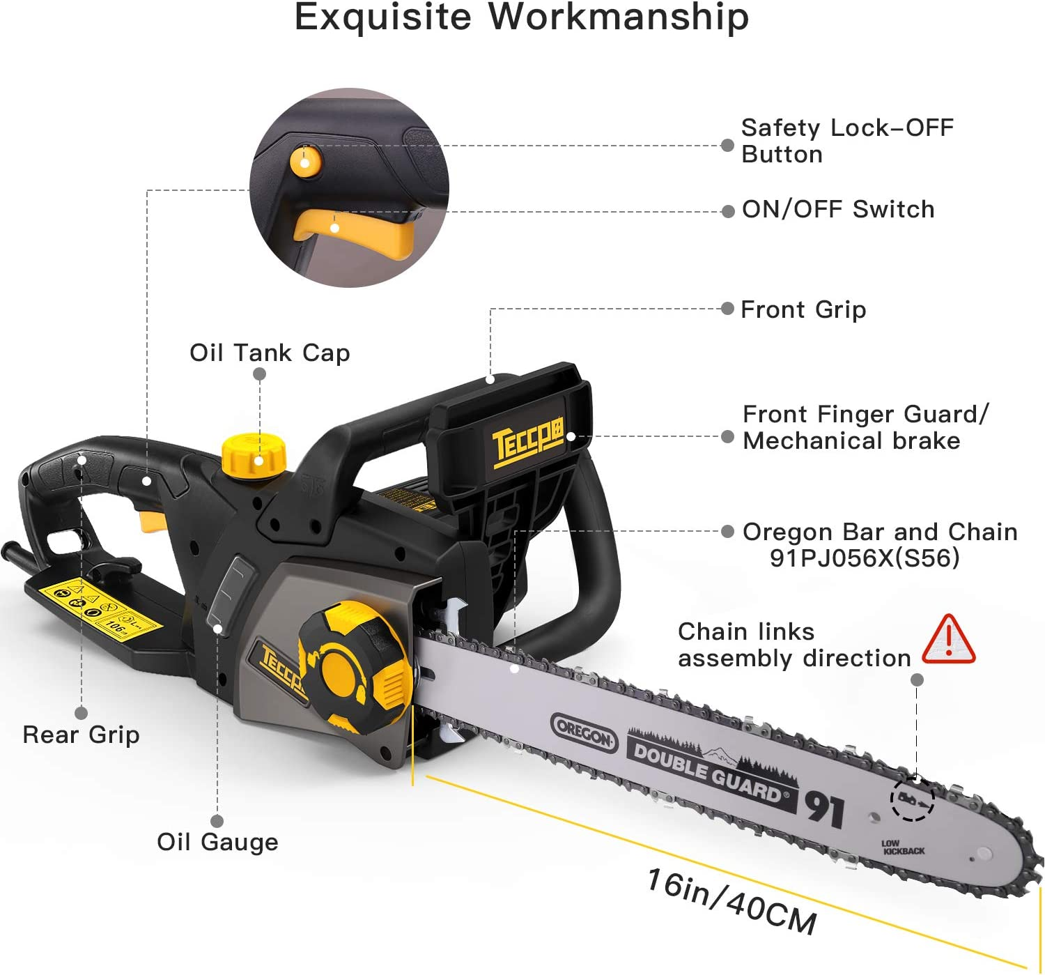 TECCPO TACS01G Chainsaws product image 2