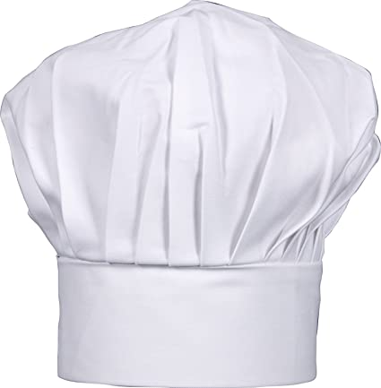 Hic Harold Import Co Gourmet Classics Adult Size Adjustable Chef Hat