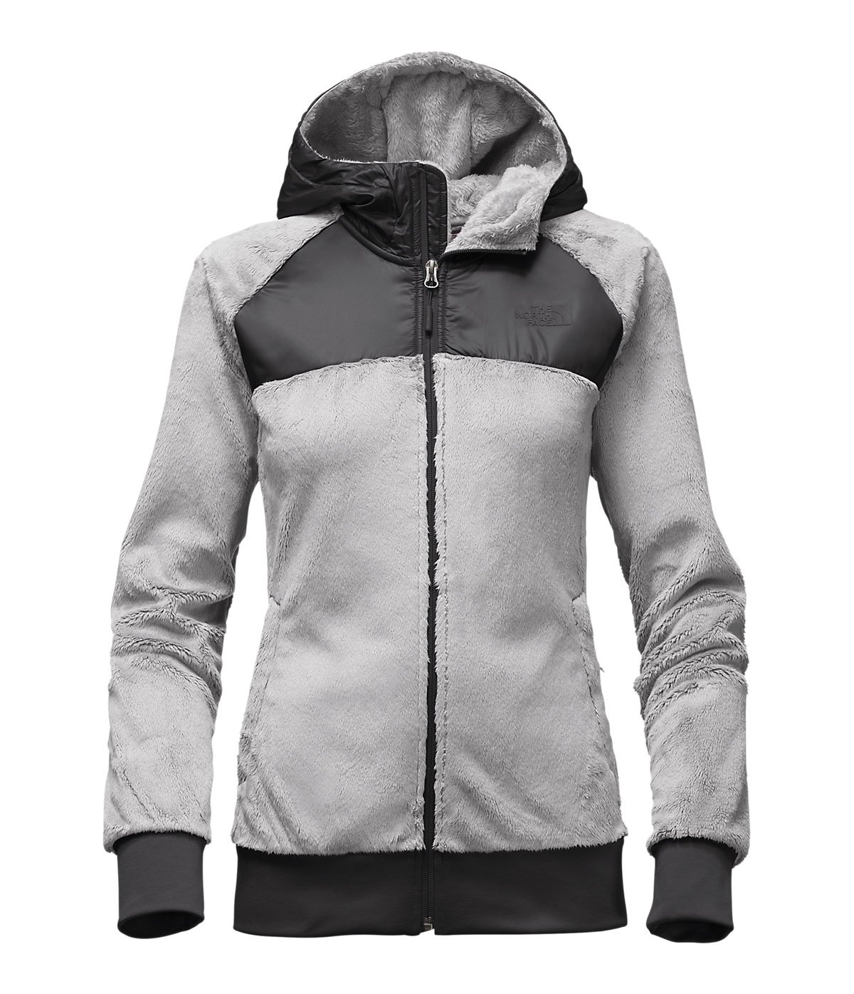 The North Face Women's OSO Hoodie Lunar Ice Grey/TNF Black (Prior Season) X-Large