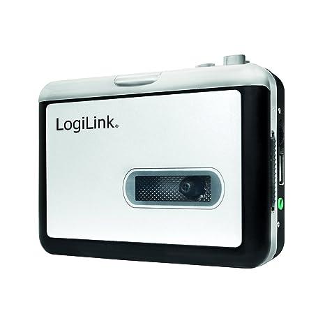 LogiLink UA0281 - Grabadora (Negro, Blanco, AA, 184 g, 113 x