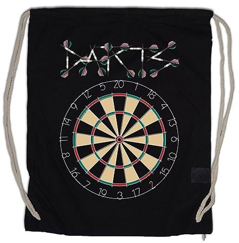 Darts Target   Arrows Sport Logo Drawstring Bag Gym Sack Dart Zielscheibe  Pfeile Profi Shirt  Amazon.ca  Luggage   Bags cca4d2a7e75f0