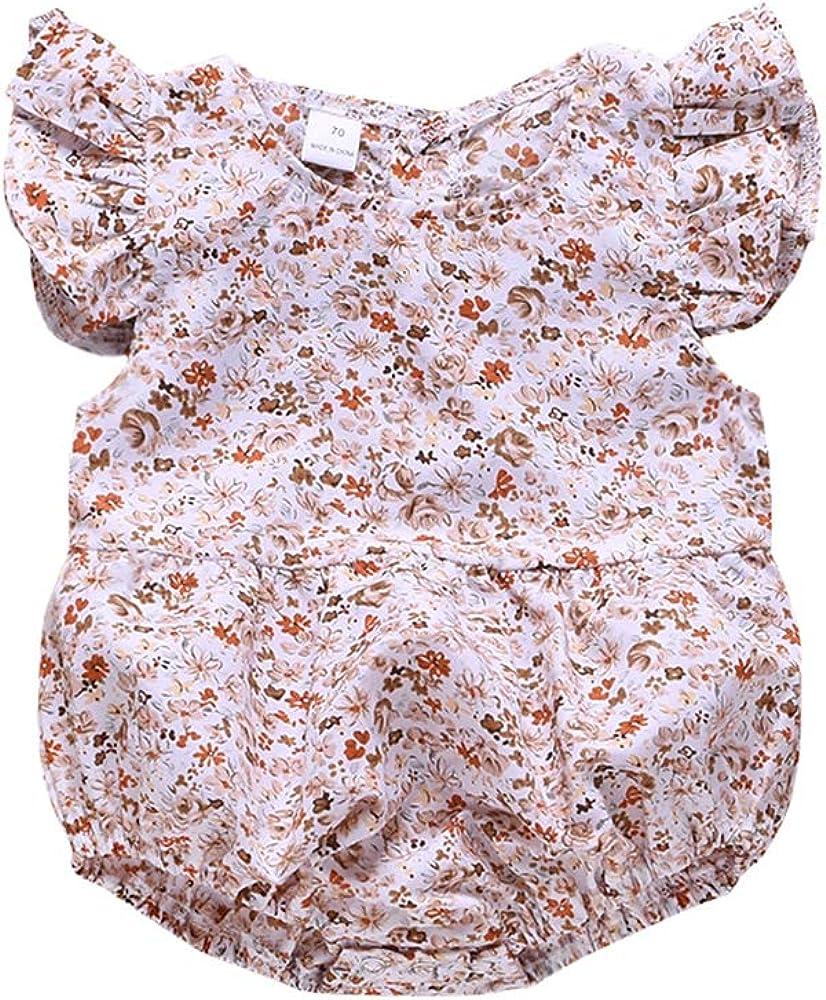 Anywow Schwestern Maching Kleidung Baby Kinder M/ädchen Blumenkleid Kleine Schwester Strampler Jumpsuit Bodysuit Geschwister Sommer Kleid 0-6J