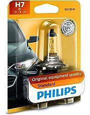 Philips 12972 Lámpara Delantera Halógena Estándar de Repuesto, paquete con 1 pieza