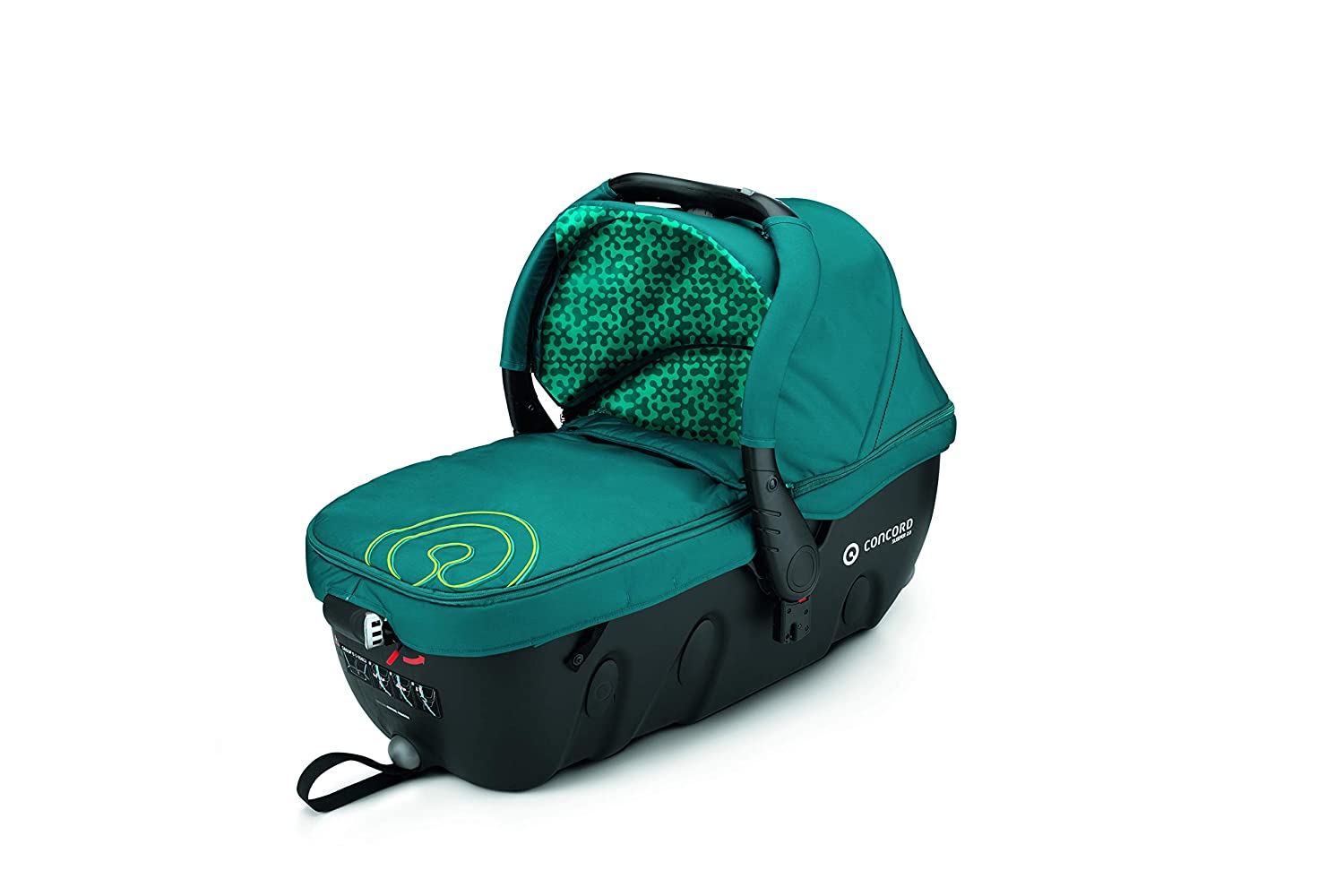 Concord Neo Travel Set - Sistema modular neo + sleeper + air 0+, Color Scuba Green