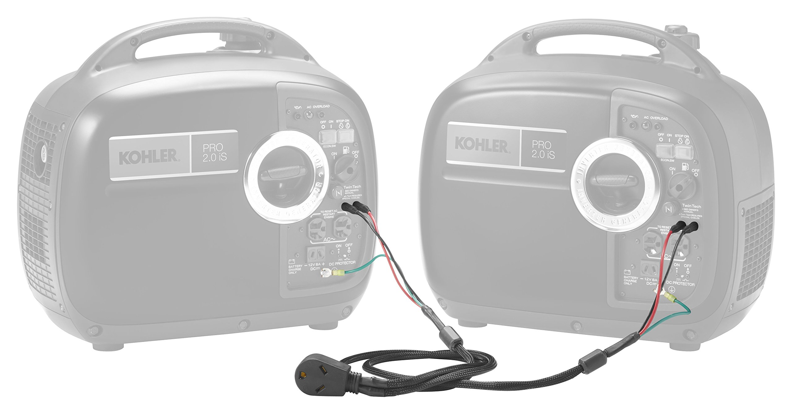 Kohler 33 755 01-S Parallel Kit for Pro2.0Is Inverter Portable Generator with 30 Amp RV Outlet by Kohler (Image #1)