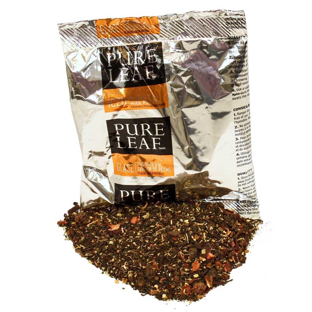 Pure Leaf Peach Black Tea, 3 Ounce -- 24 per case.