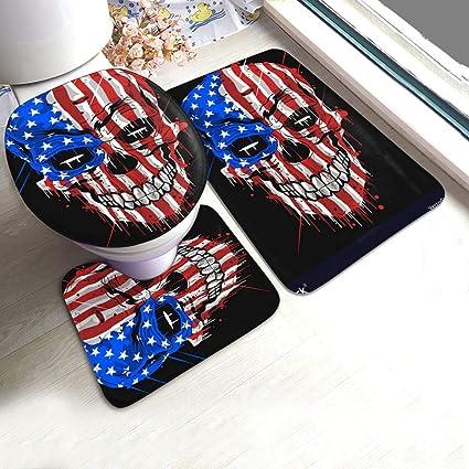 acheter tapis de bain tete de mort online 6