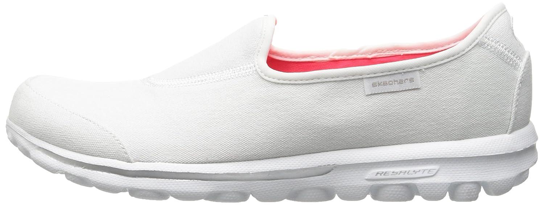 Skechers Paseo Marcha De Las Mujeres El Desarrollo Aumentar Zapato Para Caminar Slip-on 2h67hmwOL