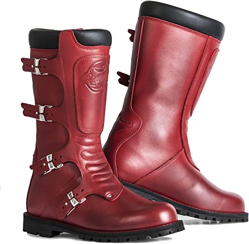 Bottes moto Stylmartin Continental Rouge: