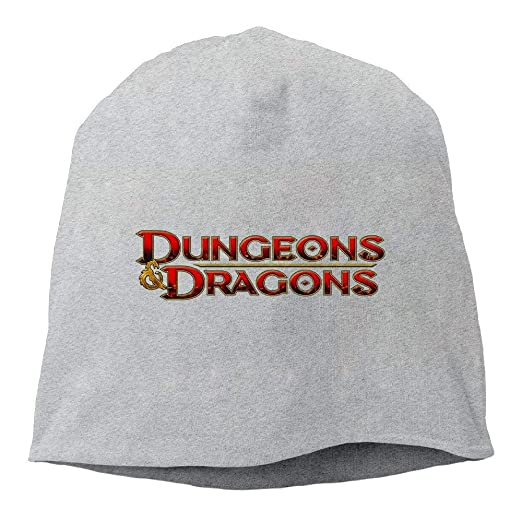 Amazon.com  Dungeons   Dragons Game Unisex Heather Beanie  Clothing d288fec0db0