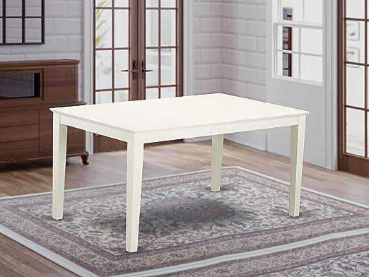 East West Furniture - Mesa de Comedor (tamaño Grande, Lino), Color ...