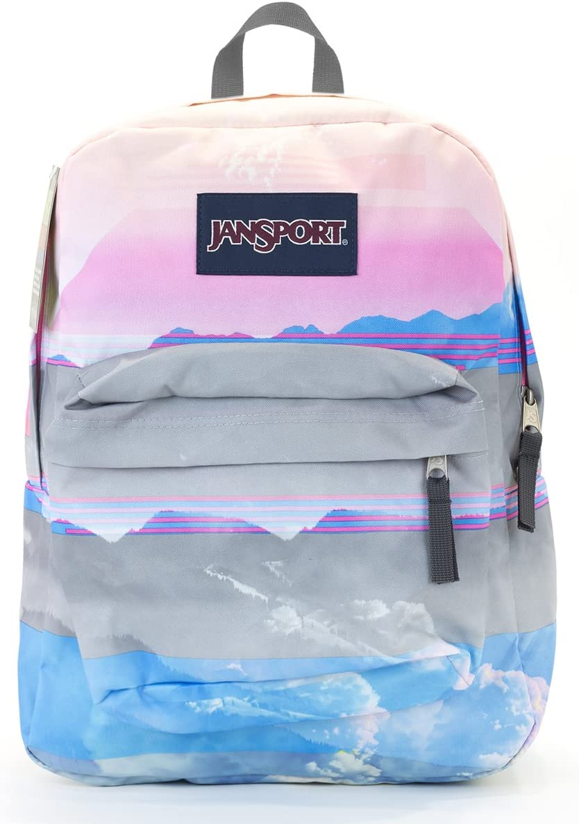 Jansport Superbreak Backpack multi linear'skie