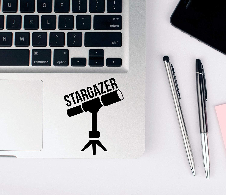 EricauBird Decal-Sticker Telescope Decal, Astronomy Decal, Stargazer Decal, Laptop Sticker, Hobby Sticker, Astrophotography, Car Window Decal, Bumper Sticker Wall Art