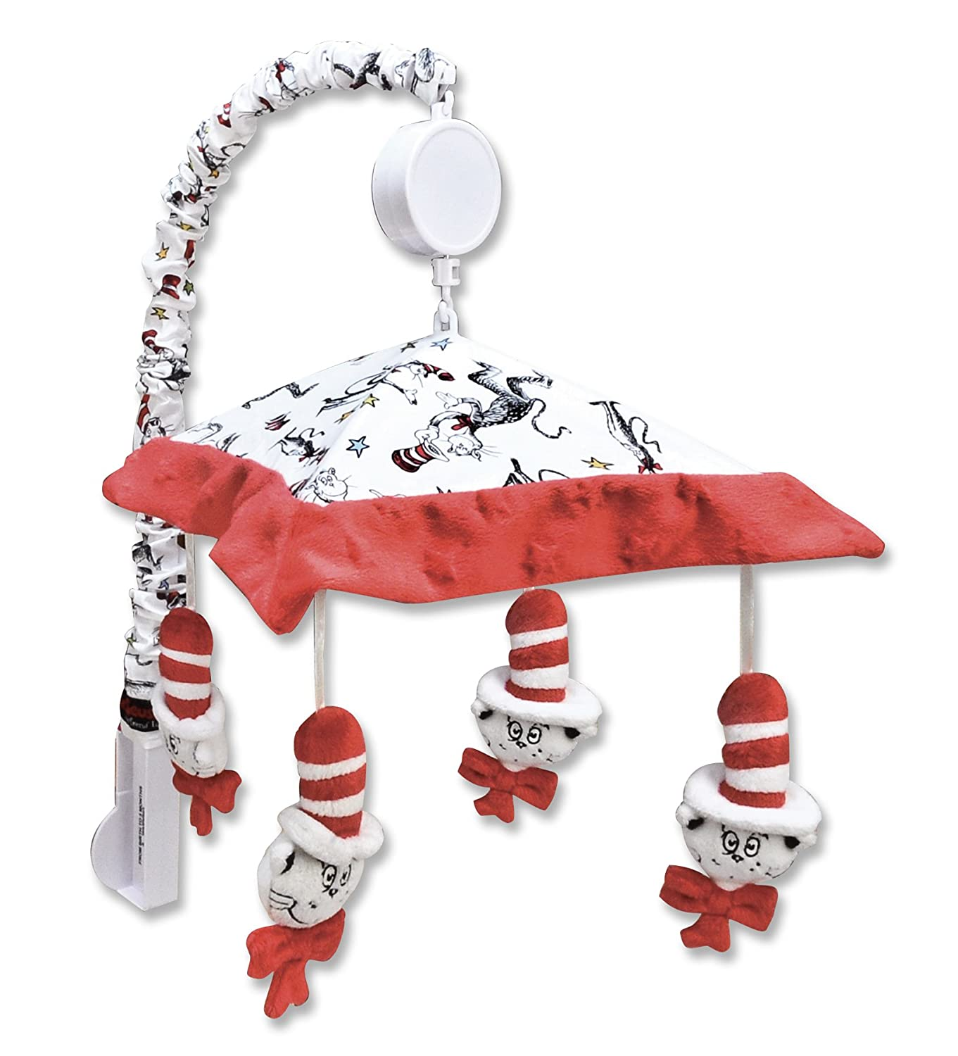 amazoncom  trend lab dr seuss mobile cat in the hat  nursery  - amazoncom  trend lab dr seuss mobile cat in the hat  nursery mobiles baby