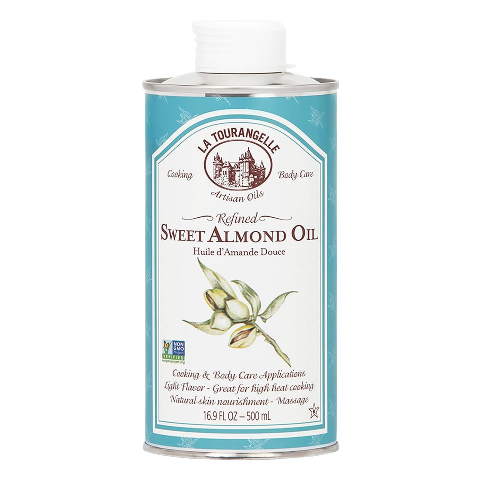 La Tourangelle, Sweet Almond Oil, Pack of 6, Size - 16.9 FZ, Quantity - 1 Case