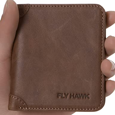 FUR LINED ARTIFICIAL LEATHER FLY WALLET