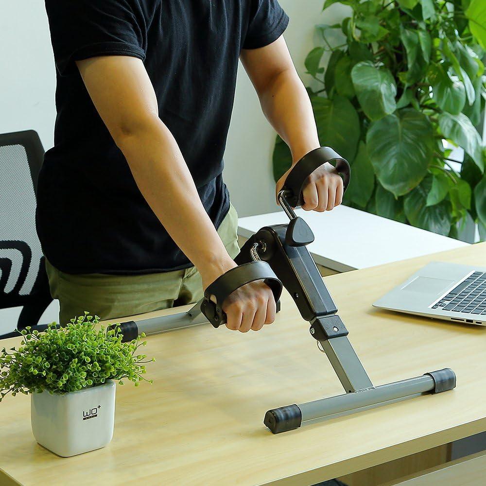 Himaly Mini Bicicletas Estáticas Plegables Portátil Casa con Pantalla LCD