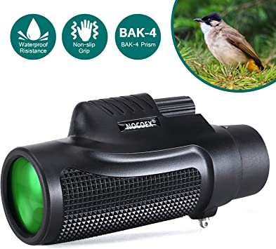 16X52 Dual Focus Monocular Rubber Armored Super Clear Hunting//Camping Scope